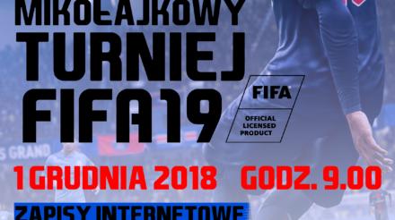 Mikołajkowy Turniej FIFA 19! Zapraszamy