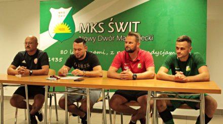 Drwęcki: Na pewno nie możemy tracić tyle bramek, bo ja dzisiaj po meczu nie jestem zadowolony