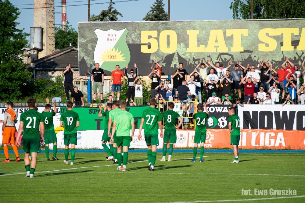 Remis!  |  Świt – Polonia Warszawa 1:1 (1:0)
