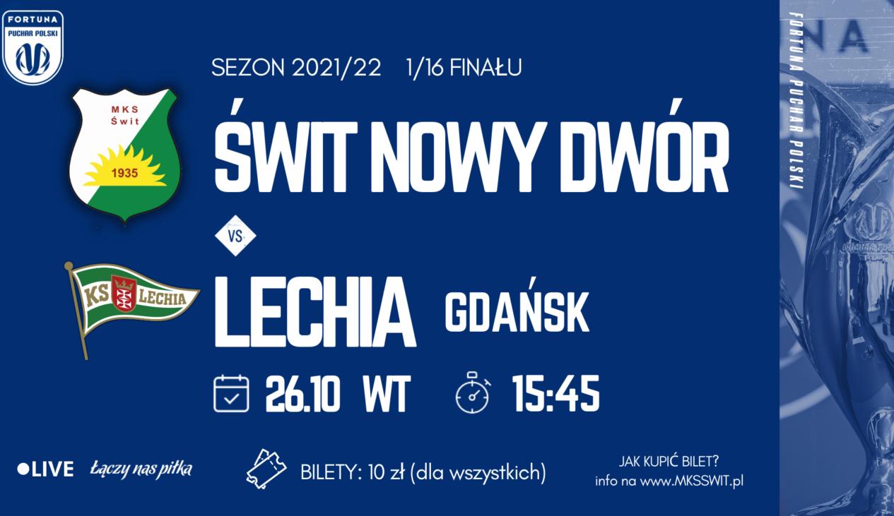 Puchar Polski: Harmonogram przedsprzedaży biletów na mecz z Lechią Gdańsk